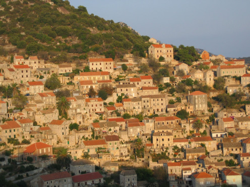 The city of Lastovo. The hidden pearl in Adriatic sea.