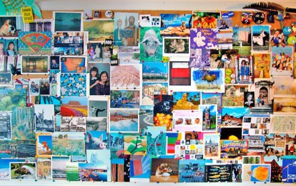 This is an excellent example of how you can use a bulletin board.