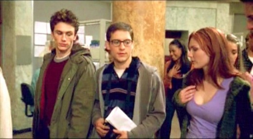 """""""Guys, these are my best friends in the whole world, Peter Parker and Mary Jane Watson!"""""""