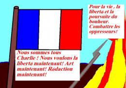 The French will still fight to retain liberty and fraternity.