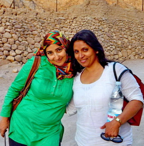 Our guide Normeen and daughter Asha accompanied me for the tour