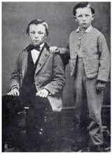 Brothers Frank & Charles Woolworth in 1866