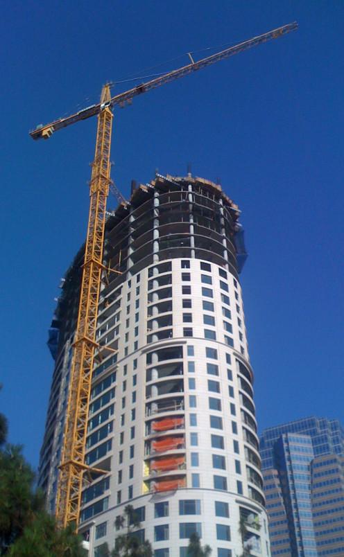Tower Crane, photo taken by Randi Glazer