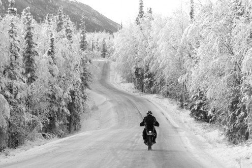 Riding Season Is Always  here; Be Alert Please.   (Personally, I prefer no ice/snow roads)