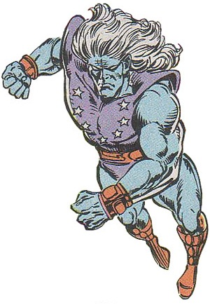 Ard-Con, AKA Ultimus, is the last of the Kree Eternals.