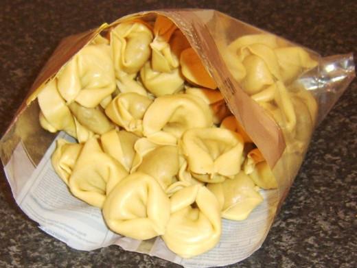 Mushroom tortelloni