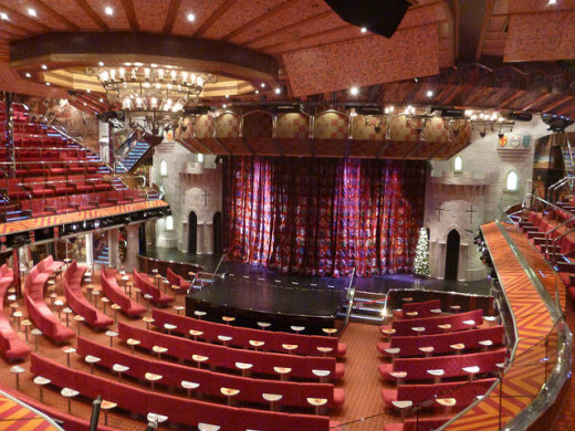 Ivanhoe Theater Onboard