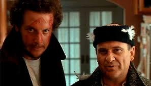 Daniel Stern, left, and Joe Pesci, of Hone Alone films. The most-famous robbers of film history.