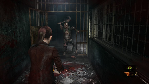Enemies in Claire's campaign have a habit of running and jumping, meaning you have to be quick on your feet.
