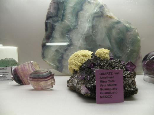 Fluorite showcase.