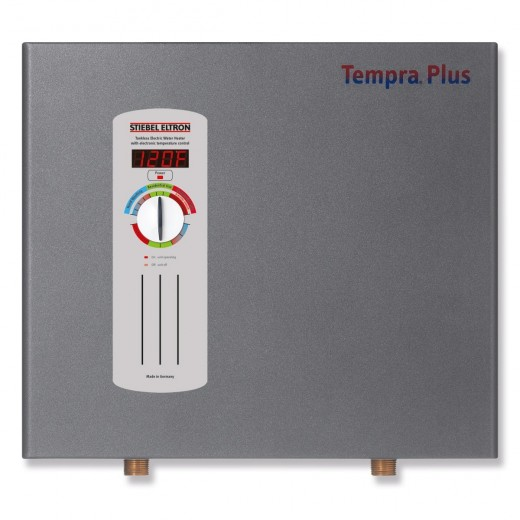 A reliable product that is easy to plumb in and use, the Stiebel Eltron Tempra 24 Plus offers convenient digital temperature control without any venting concerns.  The sleek design of the unit makes it attractive as well as functional.