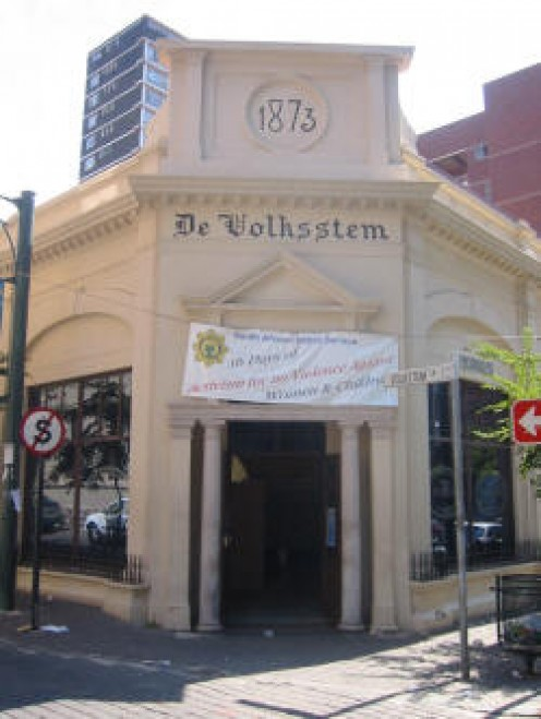 The police station in Ventersburg.