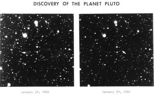 The famous Photo of Pluto