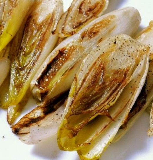 Baked and Roasted Belgian endive is very easy to prepare and cook. It makes a wonderful side dish served with roast meat or barbecues.