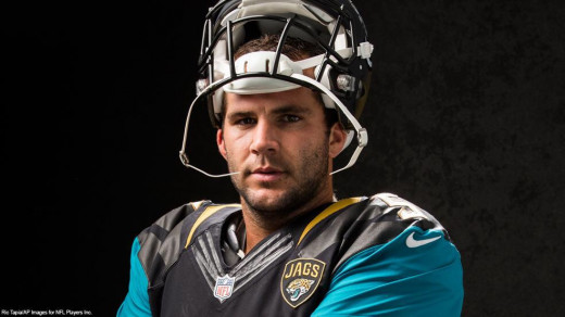 Blake Bortles is ready to lead the Jaguars into 2015