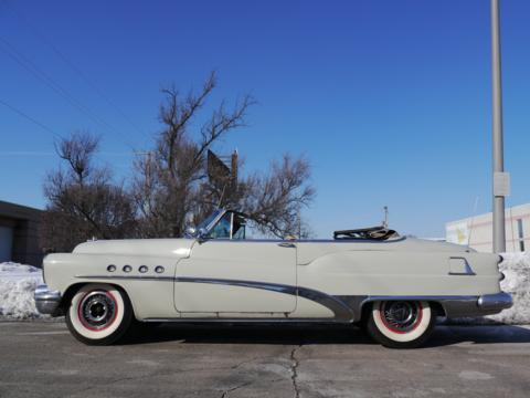1953 Buick Roadmaster convertible.