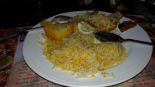 Famous Chicken Biriyani of Arsalan - Kolkata