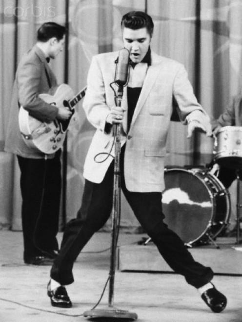 """""""Hillbilly Heartbreak."""" One of Elvis' early concerts."""
