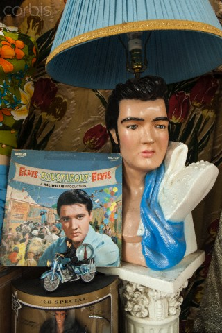 Almost everywhere in the free world there are massive-amounts of Elvis souvenirs.
