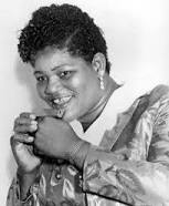 """Big Mama Thornton, a black blues singer from 1965, was the first singer to release, """"Hound Dog."""""""