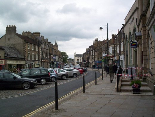 Horsemarket, Barnard Castle - the street in which John Welford lived