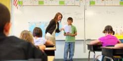 Teachers are always busy.