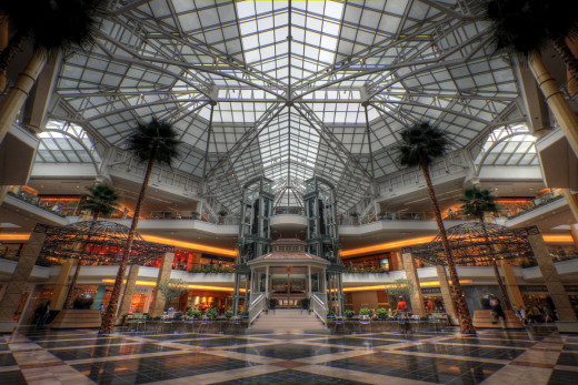 Most malls are owned by commercial property companies