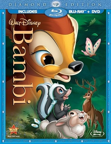 Bambi on Blu-ray and DVD