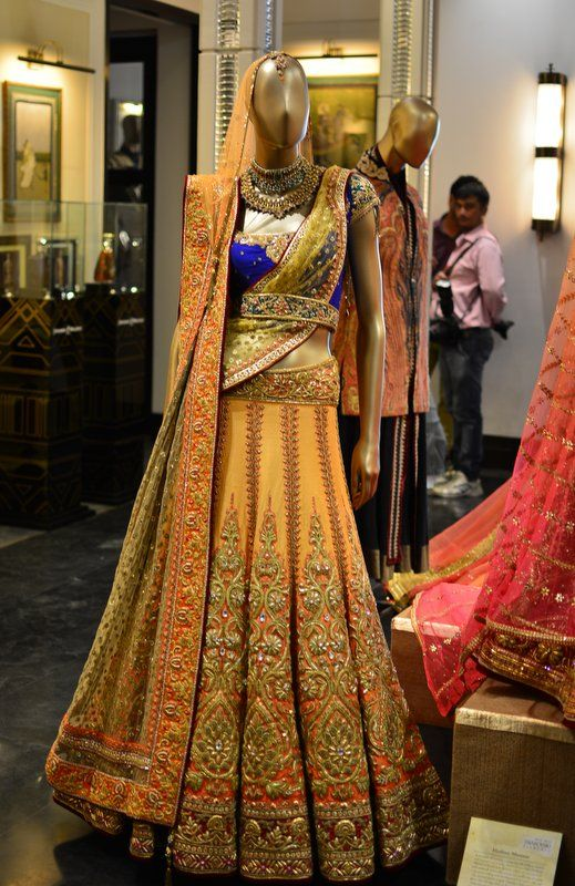 Rich embroidery on a traditional wear