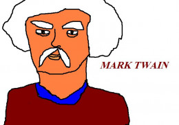 Mark Twain featured in a double episode of Star Trek - The next Generation.