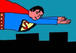 There is time travel in the various television shows to do with Superman as well as at least one of the movies.