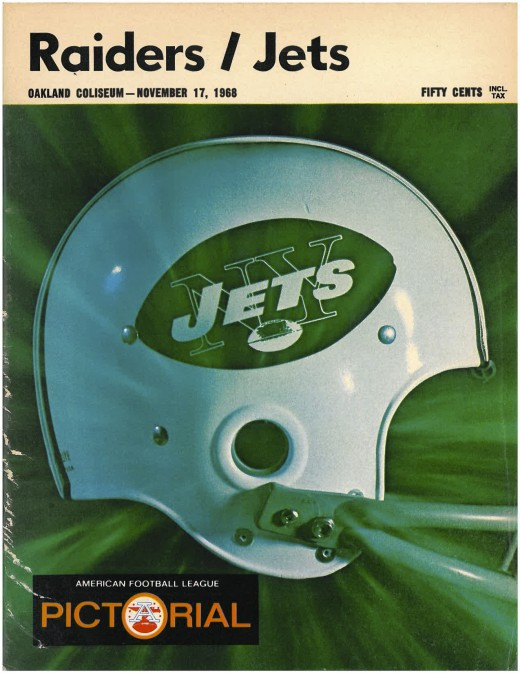 Program for the notorious November 17, 1968 game.