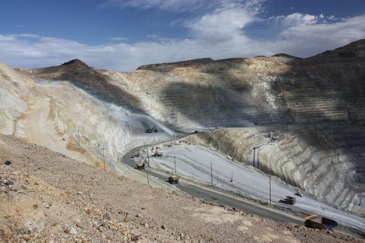Kennecott Copper Mine.