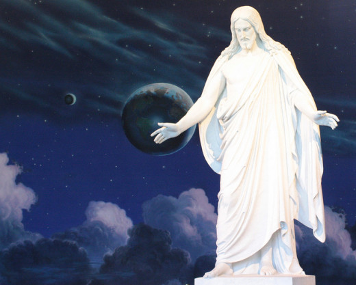 Thorvaldsen's Christus statue.