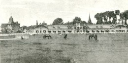 The horse farm of Haras de Meautry in the late 1880s, where James Rothschild hid his art collection.