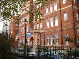 The National Neurological Hospital, an NHS hospital in Queen's Square, London WC1