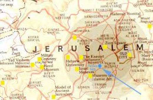 Jerusalem is not holy.  Land is not alive.