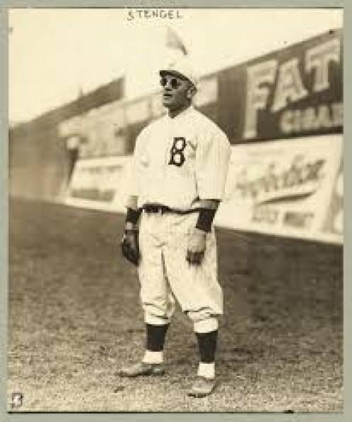 Legendary Casey Stengal, Brooklyn Dodgers.