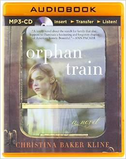 The narrator of Orphan Train, Jessica Almasy, does an incredible read. Listening to Almasy's rendition of this book - so vivid and emotional - was as much fun as getting swept away by an Oscar-winning movie