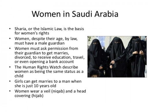 Does Affleck really think that most Muslim women in Saudi Arabia would willingly live under these laws if they had the option not to without dying?