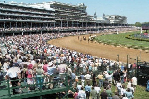 race for the Preakness Cup at Pimlico