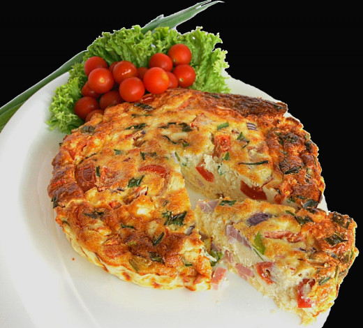 One pan Frittatas are healthy, easy and make an ideal snack. They can be also used for picnics and packed lunches.