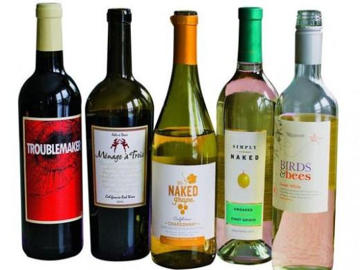 Romantic Selection of Wine