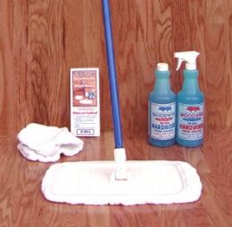 Woodwise Terry Mop Kit