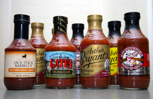 Barbecue sauce comes in a variety of flavors and colors.