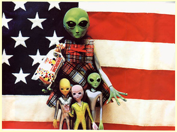 Aliens in America?