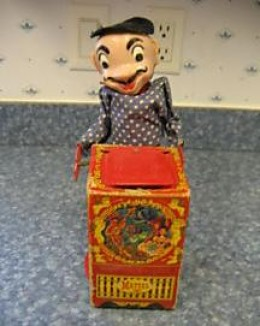 1952 Mattel Jack in the Box