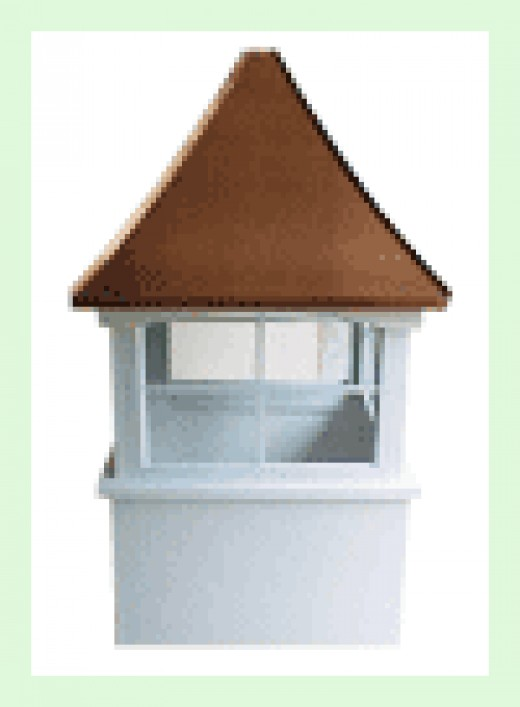 amish crafted cupola