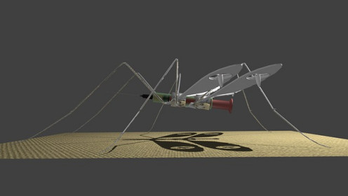 Medical Mosquito Drone - used for delivering medicines.