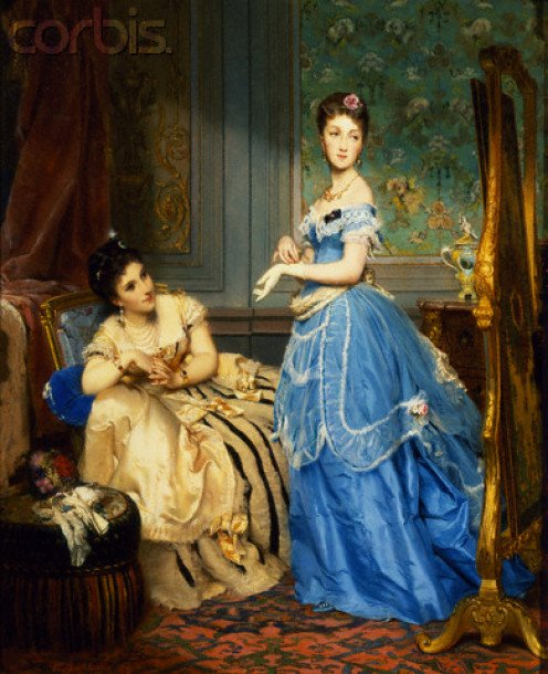 Getting Dressed  by Charles Edouard Boutibonne